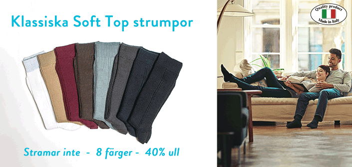 SOFT TOP® - strumporna som inte stramar
