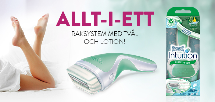Intuition Sensitive Care raksystem med tvål och lotion